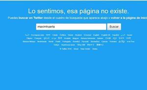 Màxim Huerta da portazo a su cuenta de Twitter