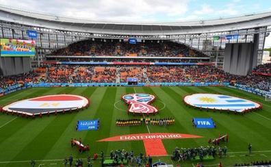 La FIFA investigará el Uruguay - Egipto por sospechas en la venta de entradas
