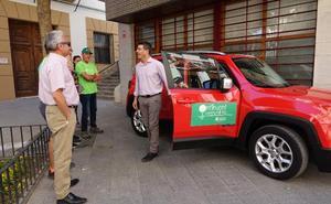 'Ontinyent contra el foc' inicia la vigilancia de las sierras con nuevo coche