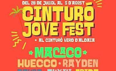 Macaco y los grupos valencianos copan el cartel del Cinturó Jove Fest