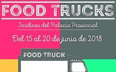 Los 'food trucks' llenan los jardines de 'la Dipu' con sabor alicantino