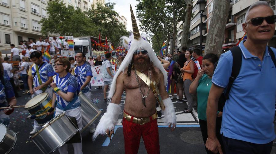 Cabalgata del Orgullo LGTBI 2018 en Valencia