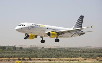 Un pájaro rompe un avión con destino a Barcelona