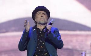 Sabina se queda «mudo» y abandona un «mal concierto» en Madrid