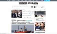 Repercusión internacional de la llegada del Aquarius a Valencia