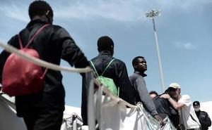 La mitad de inmigrantes del Aquarius pide su traslado a Francia