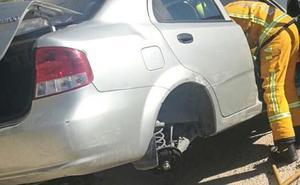 Dos mujeres heridas en un accidente de tráfico en Benissa