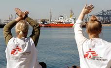 El 'Aquarius' zarpará el miércoles para seguir con rescates en el Mediterráneo central