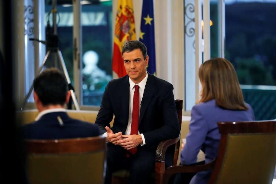 Pedro Sánchez desvela que su aspiración es agotar la legislatura