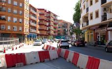 Los carriles de entrada de la avenida de Alicante tendrán doble circulación por obras