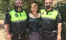Dos policías salvan la vida de una mujer en Benitatxell