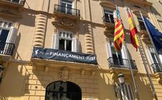 La Diputación de Valencia recupera el cartel que pide mejor financiación