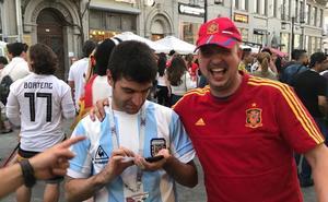 Un valenciano, personaje viral en el mundial de fútbol