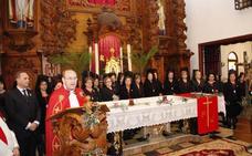 La carcoma daña el retablo de la Santíssima Sang de Dénia y se busca dinero para arreglarlo