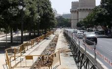 La marginal del cauce se cortará un mes al tráfico privado en Serranos por obras