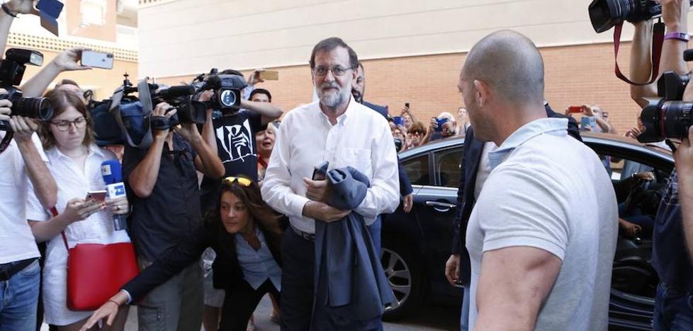 Rajoy ya trabaja en el registro de la propiedad de Santa Pola