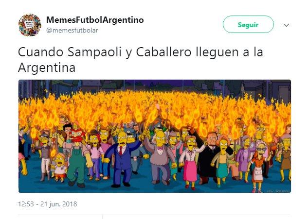 Los 'memes' de la derrota de Argentina ante Croacia