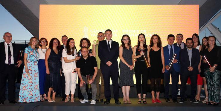 I Premios de Comunicación de la Generalitat Valenciana