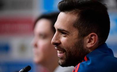 Jordi Alba: «Dramatizamos un poco... menos mal que estamos ganando»