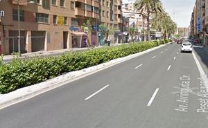Un peatón muere atropellado en la avenida Peset Aleixandre de Valencia