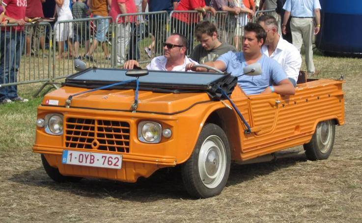 Citroën Méhari, el mito playero cumple 50 años