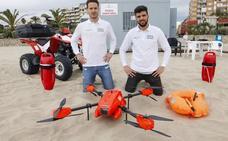 Unos drones que ayudarán a salvar vidas