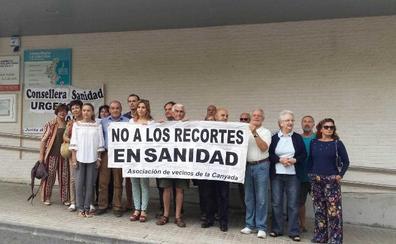 Los vecinos de La Canyada exigen recuperar el servicio de Urgencias este verano