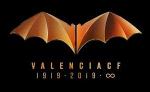 El Valencia CF presenta el logo del Centenario