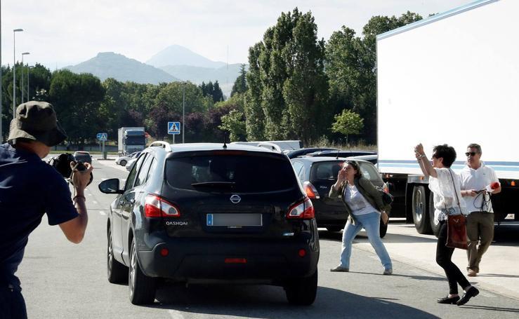 La Manada sale de la cárcel: intentan golpear un coche en Pamplona