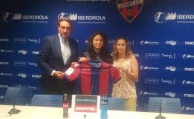 Ivana Andrés: «Creo en el proyecto del Levante UD»