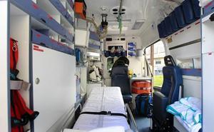 Tres heridos en un accidente entre un coche y una autocaravana en la N-340