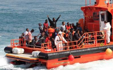 Avalancha de pateras en las costas españolas con cerca de 800 inmigrantes