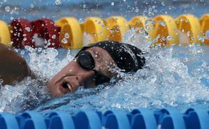 La natación aupa a España en el medallero tras la primera jornada