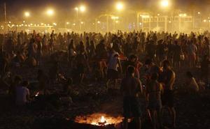 La resaca de la Noche de San Juan en Valencia