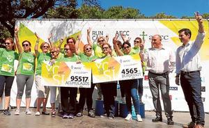 La III Carrera y Marcha Solidaria recauda 4.500 euros contra el cáncer en Burjassot