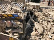 Fotos de la iglesia de El Campello (Alicante) que se ha derrumbado al acabar una misa