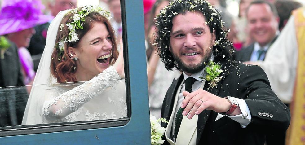 Fiesta nupcial en Invernalia: la boda de Jon Nieve e Ygritte
