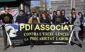Los profesores asociados demandan a la Universitat de València por vulneración de derechos