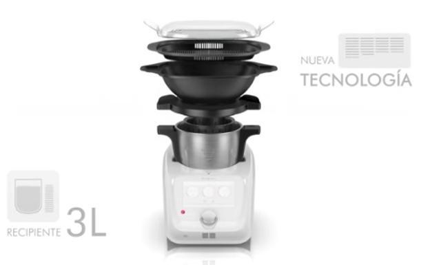 Diferencia Entre Thermomix Y Robot De Cocina | Robot De Cocina Lidl 2018 Novedades Las Provincias