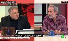Tenso enfrentamiento entre Willy Toledo y Ferreras en 'Al rojo vivo'
