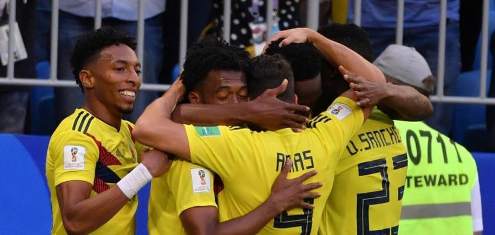 Colombia resucita y entierra a Senegal