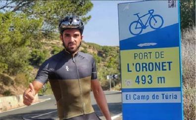Alberto Contador corona l'Oronet en tiempo récord