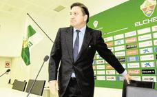 Detenido el expresidente del Elche José Sepulcre por cuatro delitos económicos