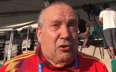 La petición entre lágrimas de Manolo el del bombo a Pedro Sánchez, la FIFA y Putin