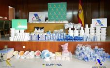 Detenidos en Valencia dos miembros de una banda internacional de tráfico de drogas psicoactivas y criptoblanqueo