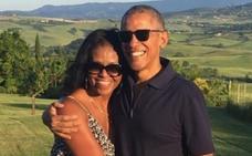 Los Obama vuelven a España