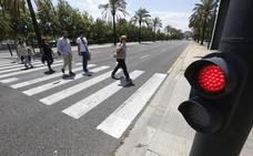 Las calles de Valencia más peligrosas para los peatones