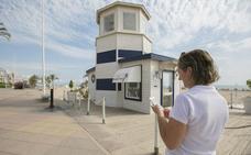 Gandia instala cinco puntos de wifi gratis en la playa