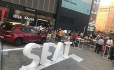 Seat Levante Motor reunió a la afición para animar a España