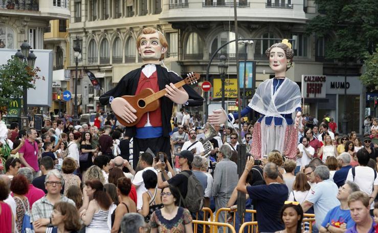 Desfile inaugural de la Feria de Julio de Valencia 2018
